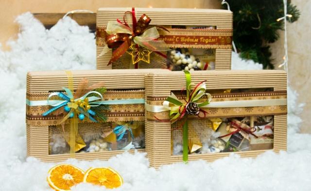 Thumbnail for - сбор на сладкие новогодние подарки